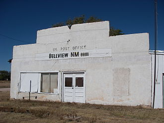 Bellview, New Mexico - Abandoned post office in Bellview