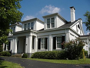 Ben Johnson House (Bardstown, Kentucky) - Image: Ben Johnson House