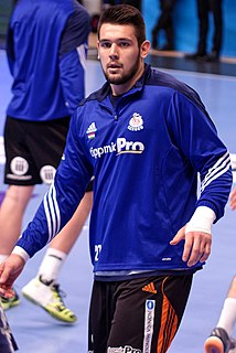Bence Bánhidi Hungarian handball player