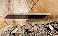 Bench on granite cliff in Loddebo.jpg
