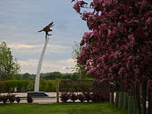 Berlin Airlift Memorial at National Memorial Arboretum.jpg
