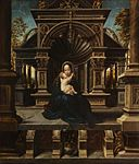 Bernard van Orley - Madonna and Child Enthroned 2975 pcf.jpg