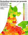 Besteedbaar inkomen quantile 18 klassen map.png