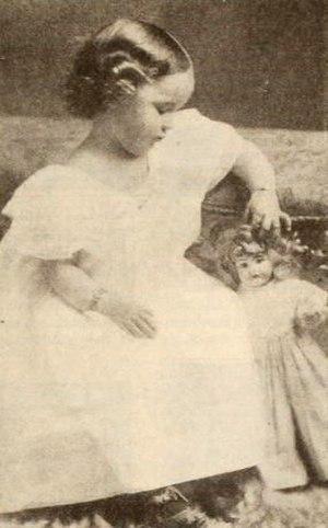 Betty Compson - Compson age 3