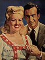 Betty Grable and Harry James, 1944.jpg
