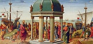 Los esponsales de Jasón y Medea en el templo de Apolo