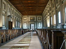 Biblioteca Medicea Laurenziana, interno