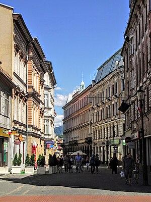 Bielsko-Biała - Image: Bielsko Biała, 11 Listopada 2