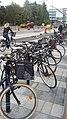 Bikes Karolinska Institutet Solna 03.jpg