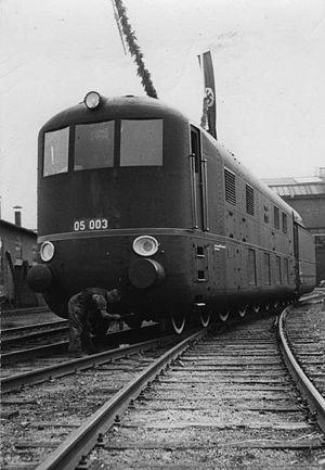 DRG Class 05 - Image: Bild 183 C10258