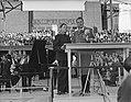 Billy Graham (Amerikaanse evangelist) in Nederland, bijeenkomst Olympisch Stadio, Bestanddeelnr 906-5386.jpg