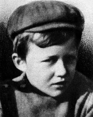 Bing Crosby - Crosby aged nine