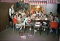 Birthday Party 1964 using Kraft grocery store displays.jpg