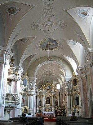 Cluj-Napoca Franciscan Church - Franciscan Church interior