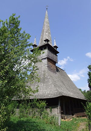 Țara Călatei - Image: Biserica de lemn din Agârbiciu