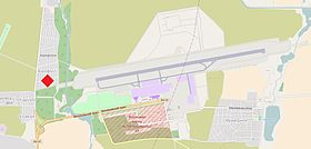 Bishkek January 2017 plane crash location.jpg