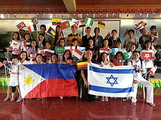 Day to Praise - Image: Bishop Armando Cruzem and congregation Day to Praise 2016