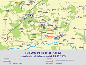 Battle of Kock (1939) - Image: Bitwa kock 1939 1