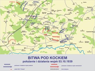 Battle of Kock (1939) - Image: Bitwa kock 1939 1