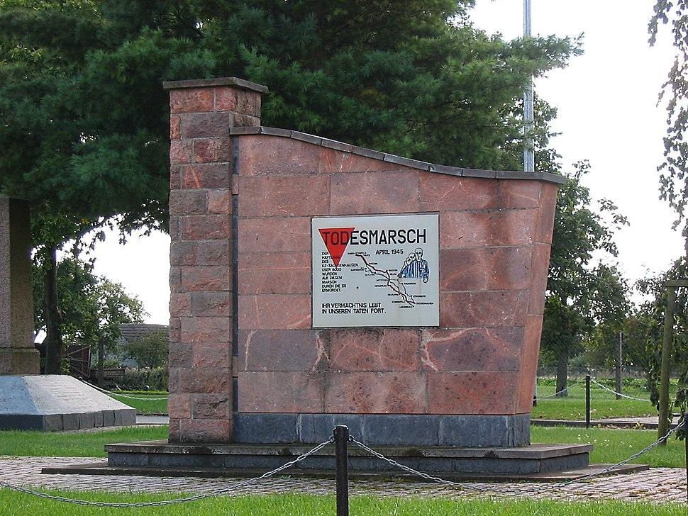 Blievenstorf Denkmal Todesmarsch