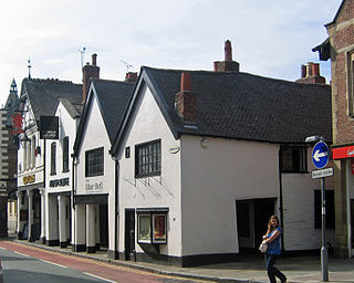 Blue Bell, Chester Grade I listed restaurant in Chester, United Kingdom
