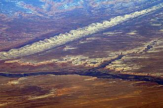 Comb Ridge - Image: Bluff UT aerial with San Juan River and Comb Ridge