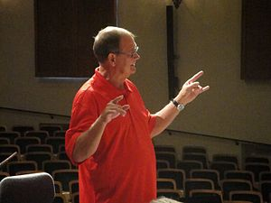 Bob Curnow - Bob Curnow conducting in PA, 2010