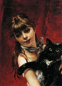 Boldini, The Girl with a Black Cat.jpg