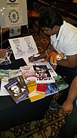 BookSwapping at Wikimania 2018 20180722 151806 (18).jpg
