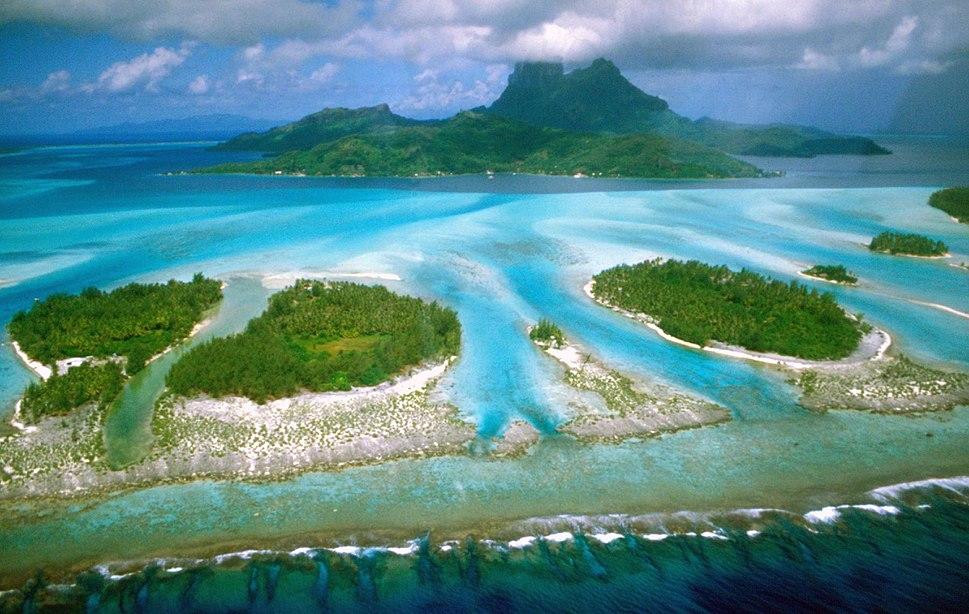 ボラボラ島、フランス領ポリネシア