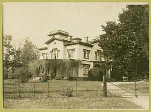 Bordentown, New Jersey - Former Bonaparte mansion, after its remodeling