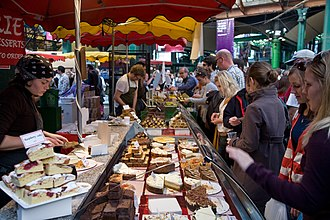 Borough Market - Borough Market cake stall
