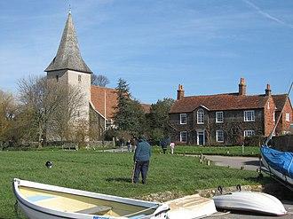 Bosham - Image: Bosham Church geograph.org.uk 756556