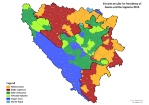 Bosnia and Herzegovina, presidental election, 2014.png