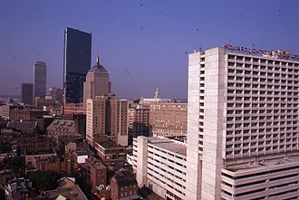 Boston (album) - The city of Boston in 1973.