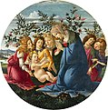 Botticelli - Madonna Adoring the Child with Five Angels - Baltimore Museum of Art 2.jpg