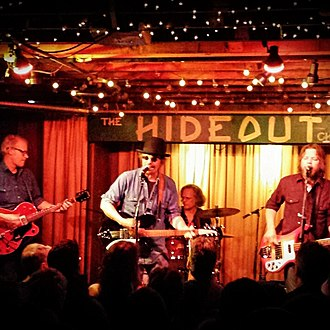 The Bottle Rockets - The Bottle Rockets performing at The Hideout in Chicago on November 21, 2015.