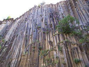 Boyabat - Basalt columns in Boyabat