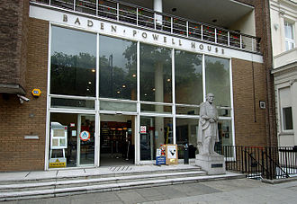 Baden-Powell House - Baden-Powell House, front view