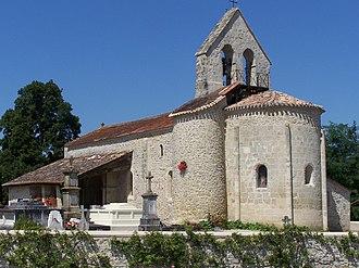 Brannens - Image: Brannens Église 01