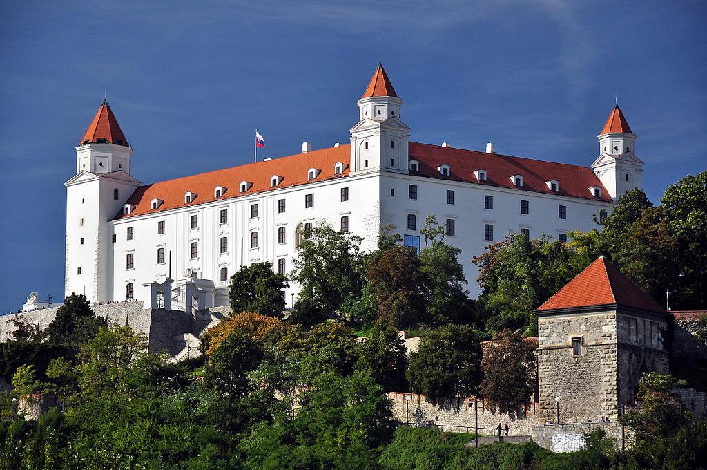 Chateau de Bratislava en Slovaquie - Photo de LMih.