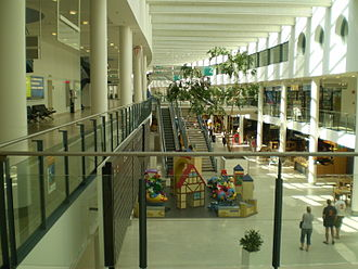 Bremen Airport - Terminal interior