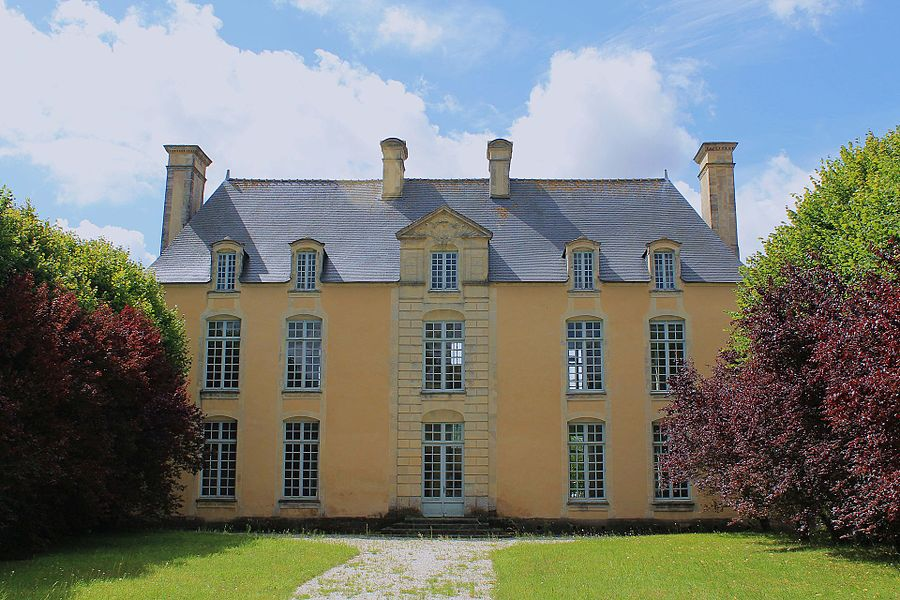 Château de la Motte à Bretteville-l'Orgueilleuse (Calvados)