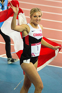 Brianne Theisen-Eaton Canadian athlete