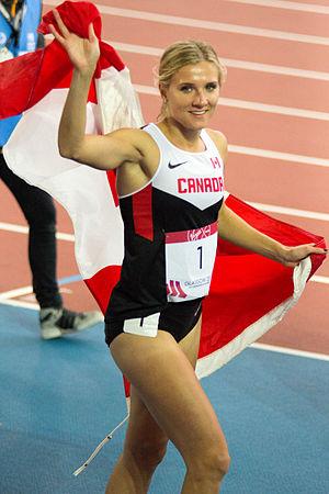 Brianne Theisen-Eaton - Theisen-Eaton at the 2014 Commonwealth Games