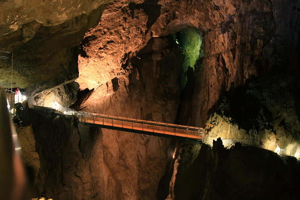 Bridge Inside Skocjan Caves - Slovenia (7451202474)