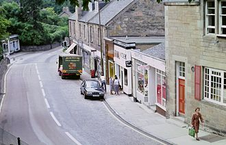 Colinton - The same street in 1980