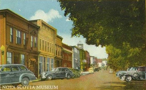A postcard showing King Street