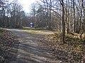 Bridleway junction in Mereworth Woods - geograph.org.uk - 1200103.jpg