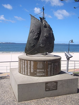 Brighton-Le-Sands, New South Wales - Bicentennial Monument at Botany Bay